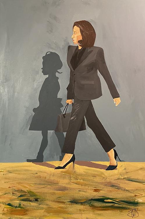 "Kamala Harris Walking with Ruby Bridges ""Pick up the torch"" - Ruby B"