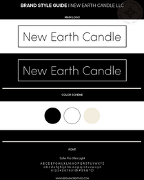Brand Style Guide New Earth Candle LLC