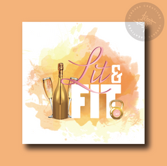 Lit and Fit LLC Main Logo