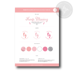 Brand Style Guide Keep Moving and Make It Work LLC