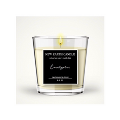New Earth Candle LLC Package Graphic Label Design