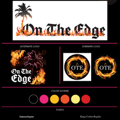 Brand Style Guide On The Edge Co