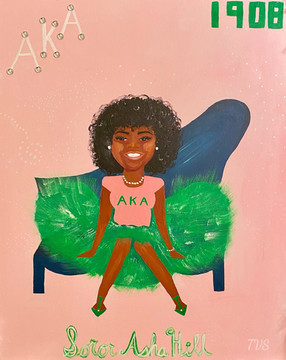 For a Pretty Girl who got her pearls Asha Hill 💓💚18💚💓Congrats!