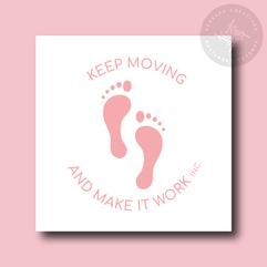 Keep Moving and Make It Work LLC Submark Logo