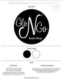 Brand Style Guide Glo N' Go Body Shop LLC