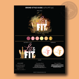 Brand Style Guide Lit and Fit LLC