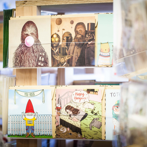 Books & Greeting cards