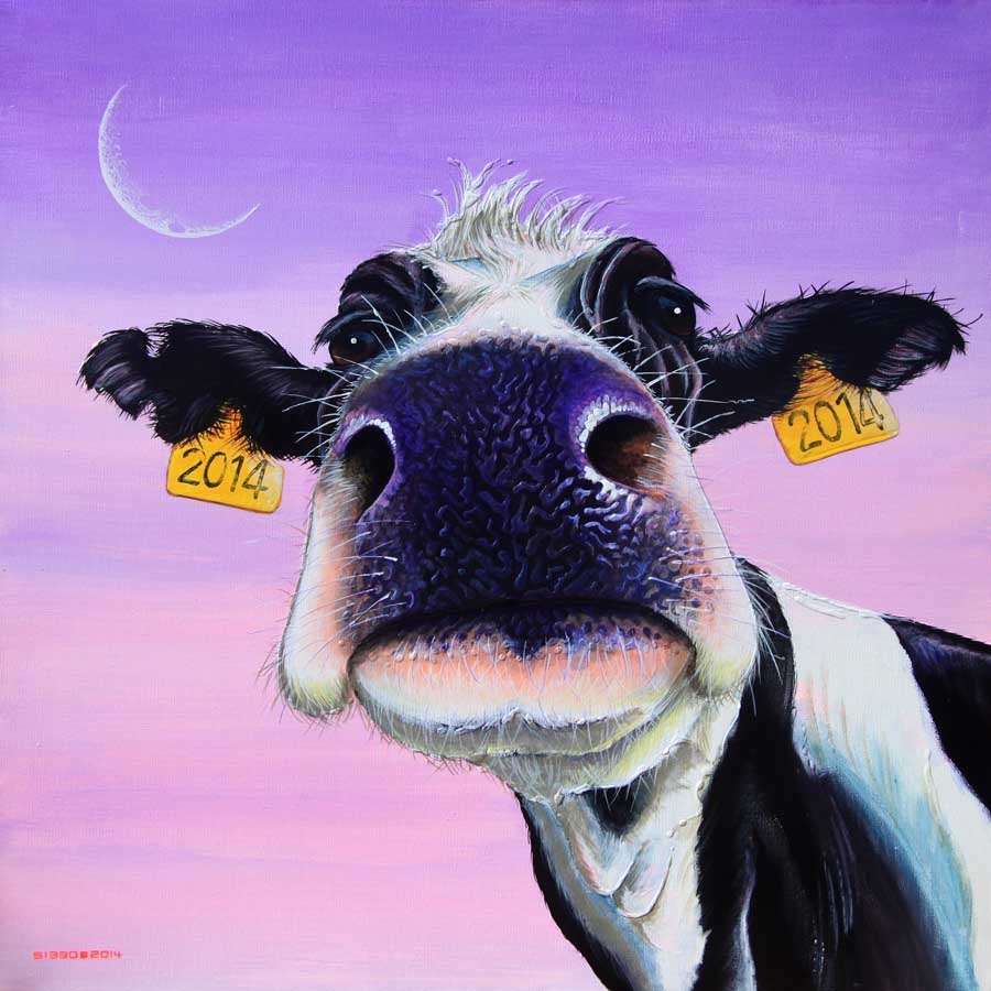 Moo Year's Day