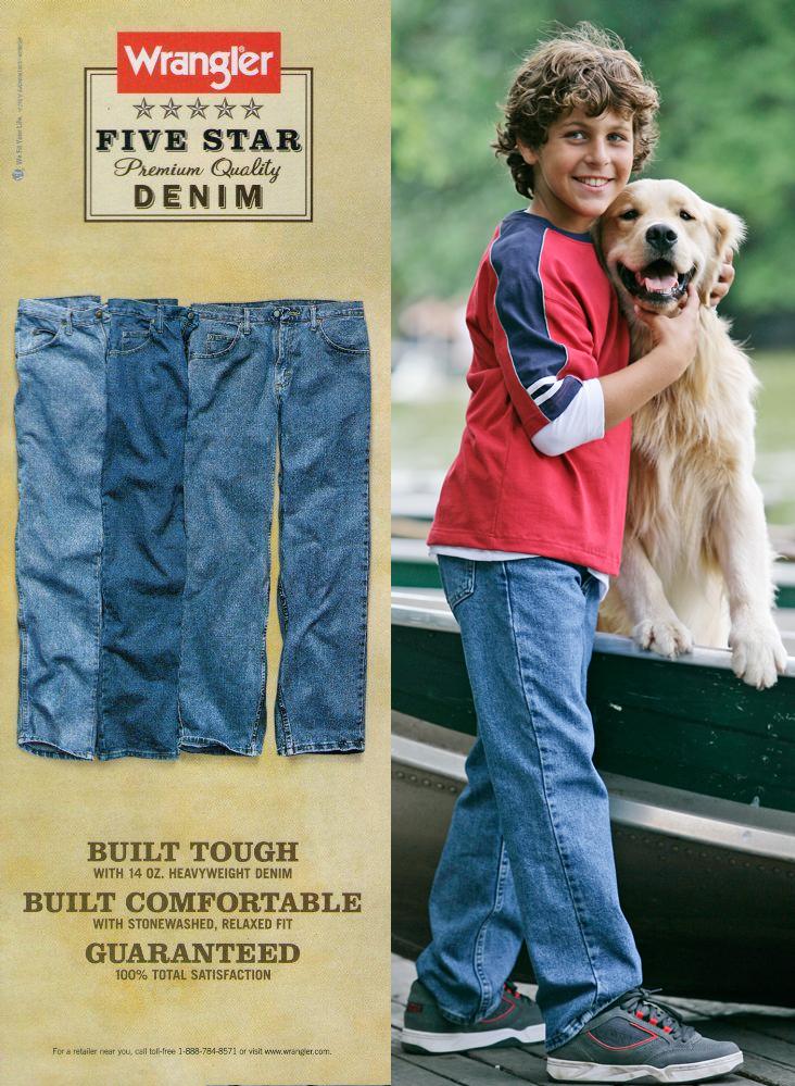 Wrangler Boy Jeans