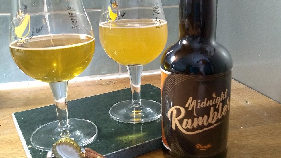 Bière Blonde Midnight Rambler 33 cl
