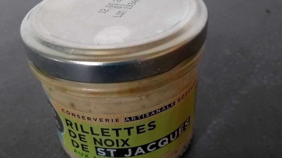 Rillettes de Noix de Saint Jacques aux algues