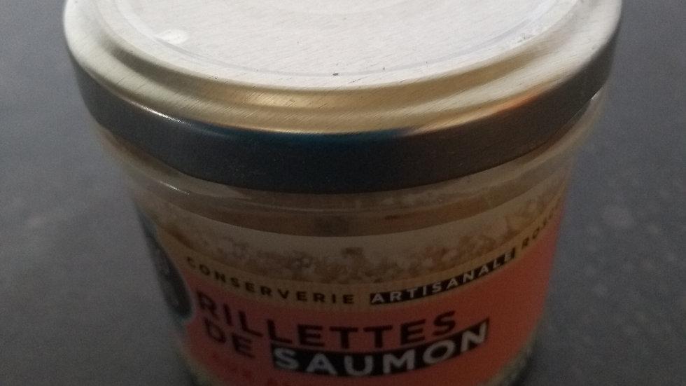 Rillettes de saumon aux algues