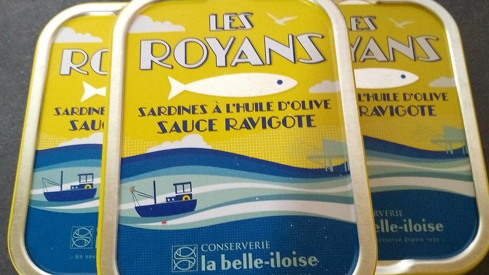 Sardines Les Royans (sauce ravigote)