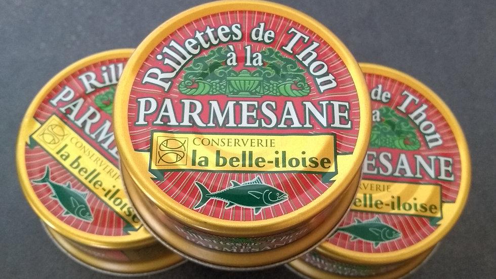 Rillettes de thon parmesane