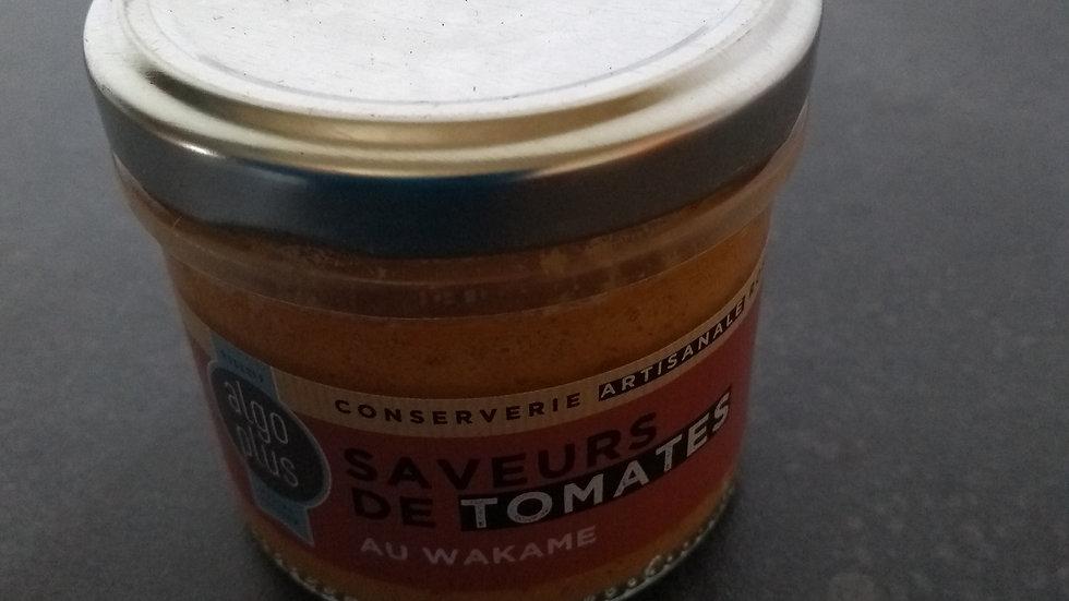 Saveurs de tomates confites au Wakamé
