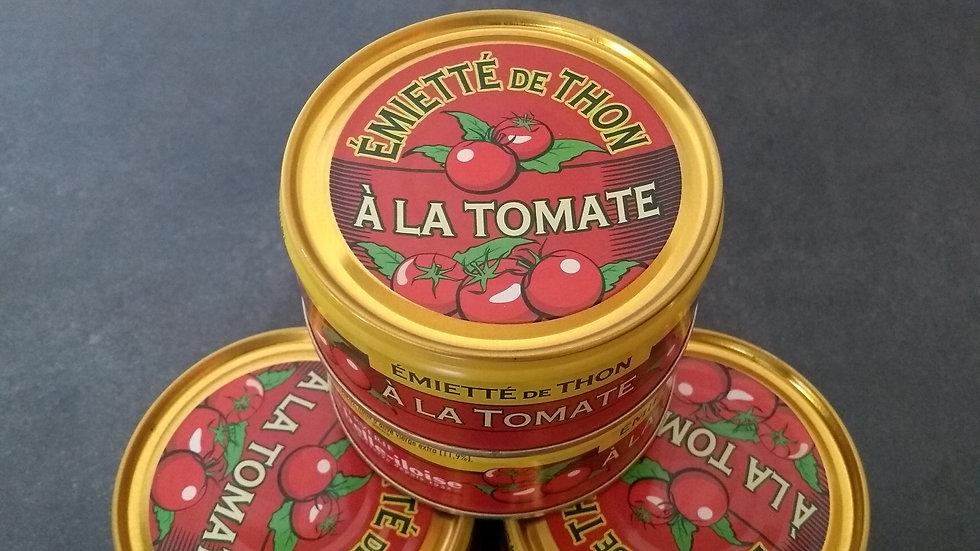 Emietté de thon à la tomate