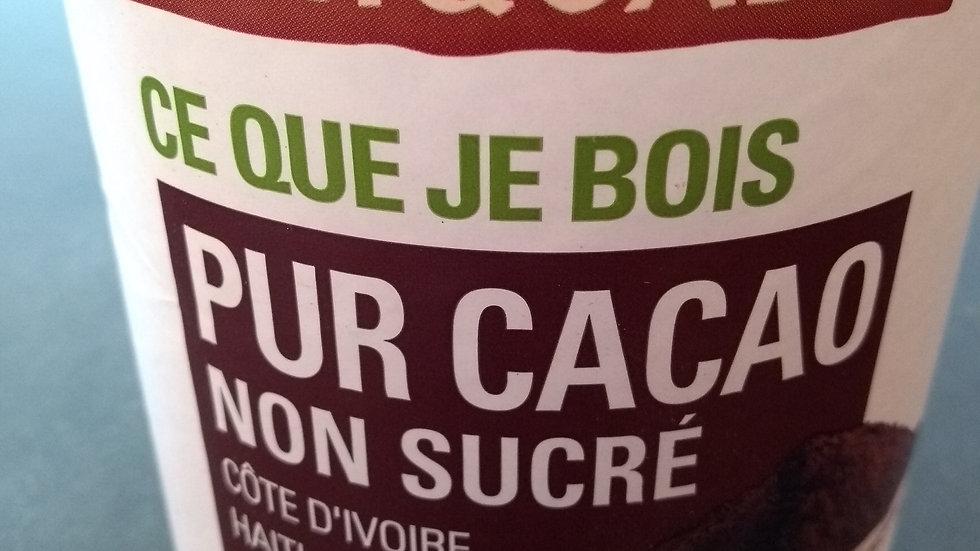 Pur cacao en poudre non sucré