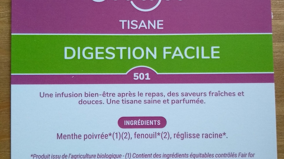 Tisane Digestion Facile