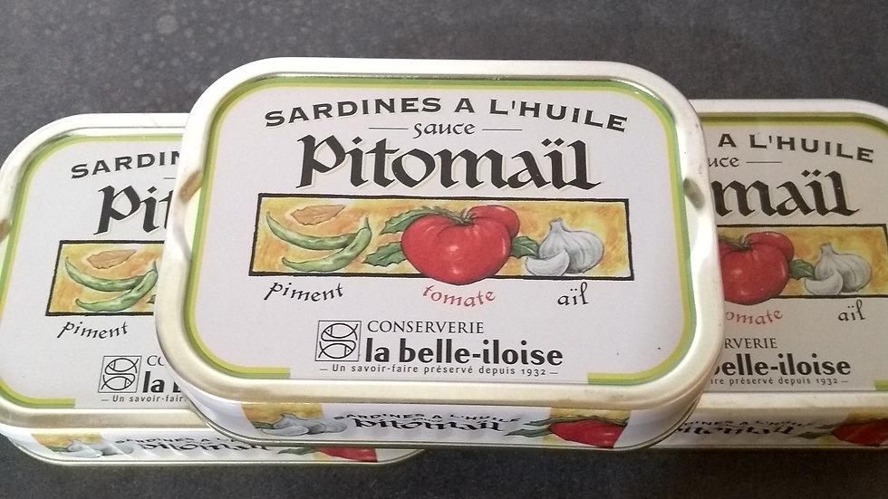 Sardines Pitomaïl