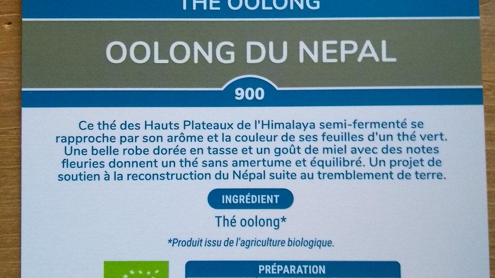 Thé Oolong du Népal