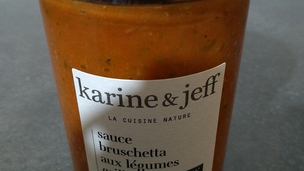 Sauce bruscetta aux légumes grillés
