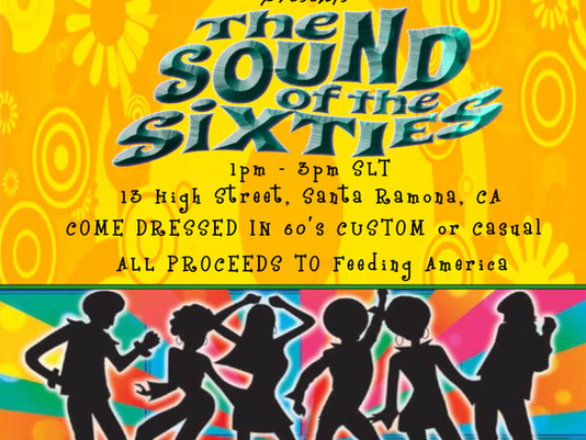 Badges: The Sound of the Sixties Party!