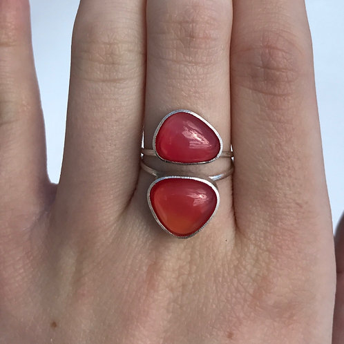 Coral Two Piece Ring