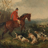 William_J._Shayer_-_Foxhunting-_At_Cover