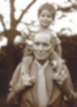 Mr. Stillman and his youngest grandchild, Peter Budnik.