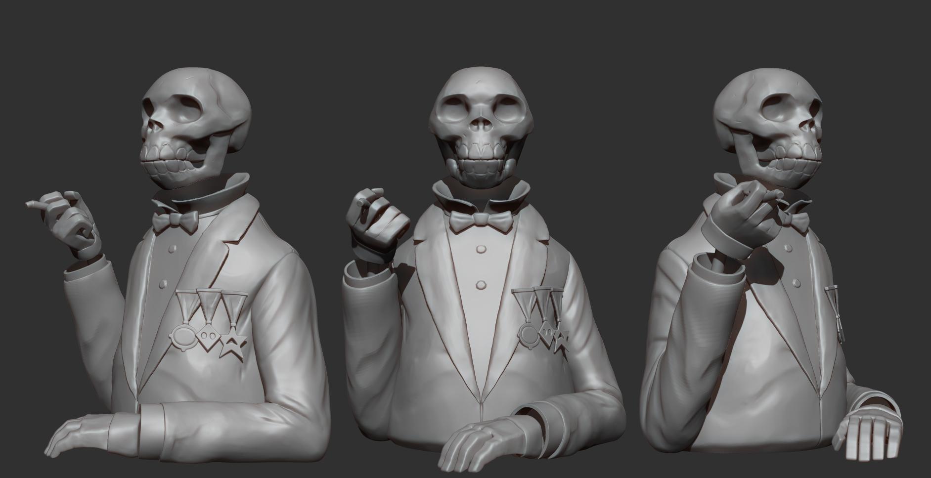 Mignola Skull