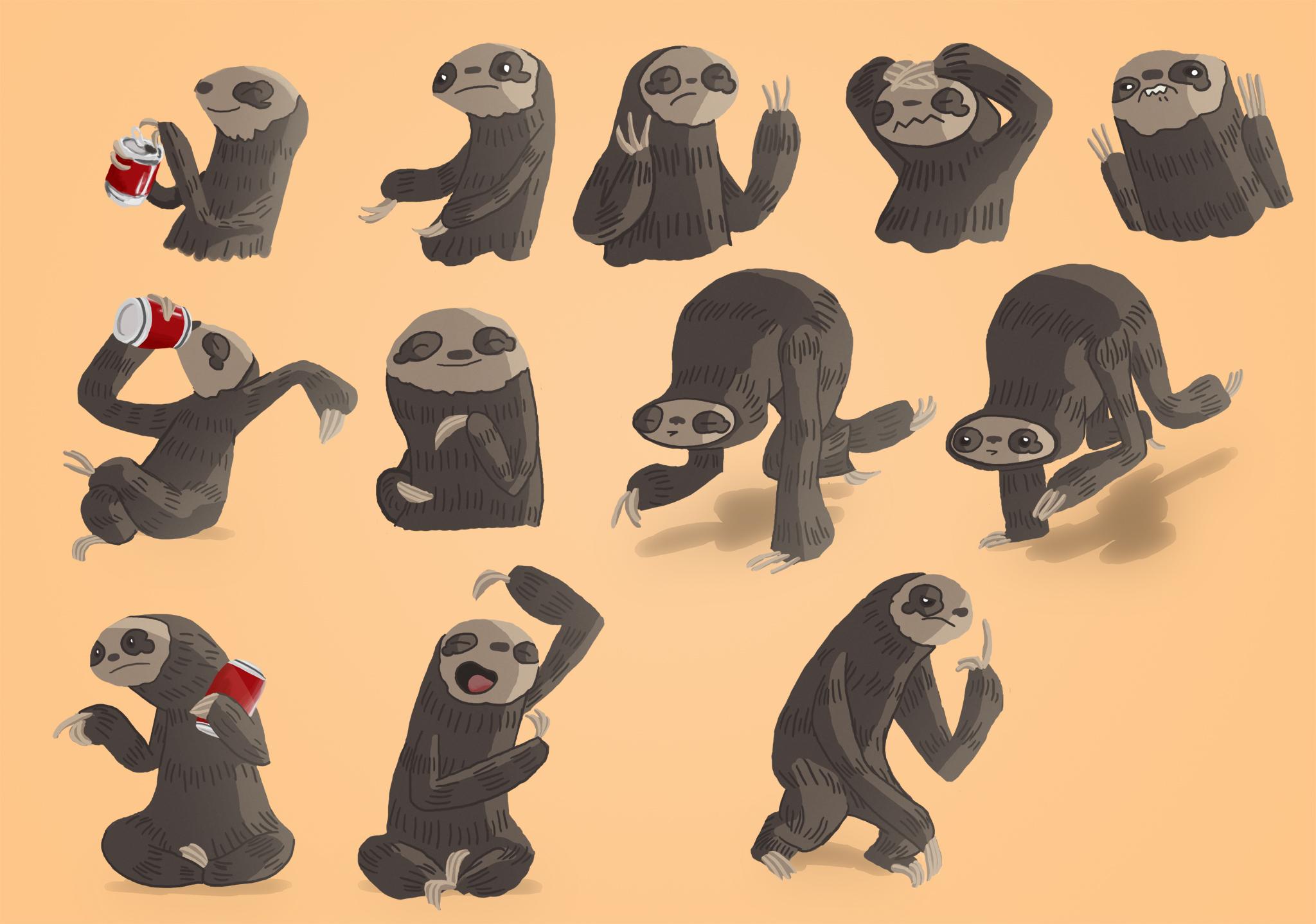 Sloth character