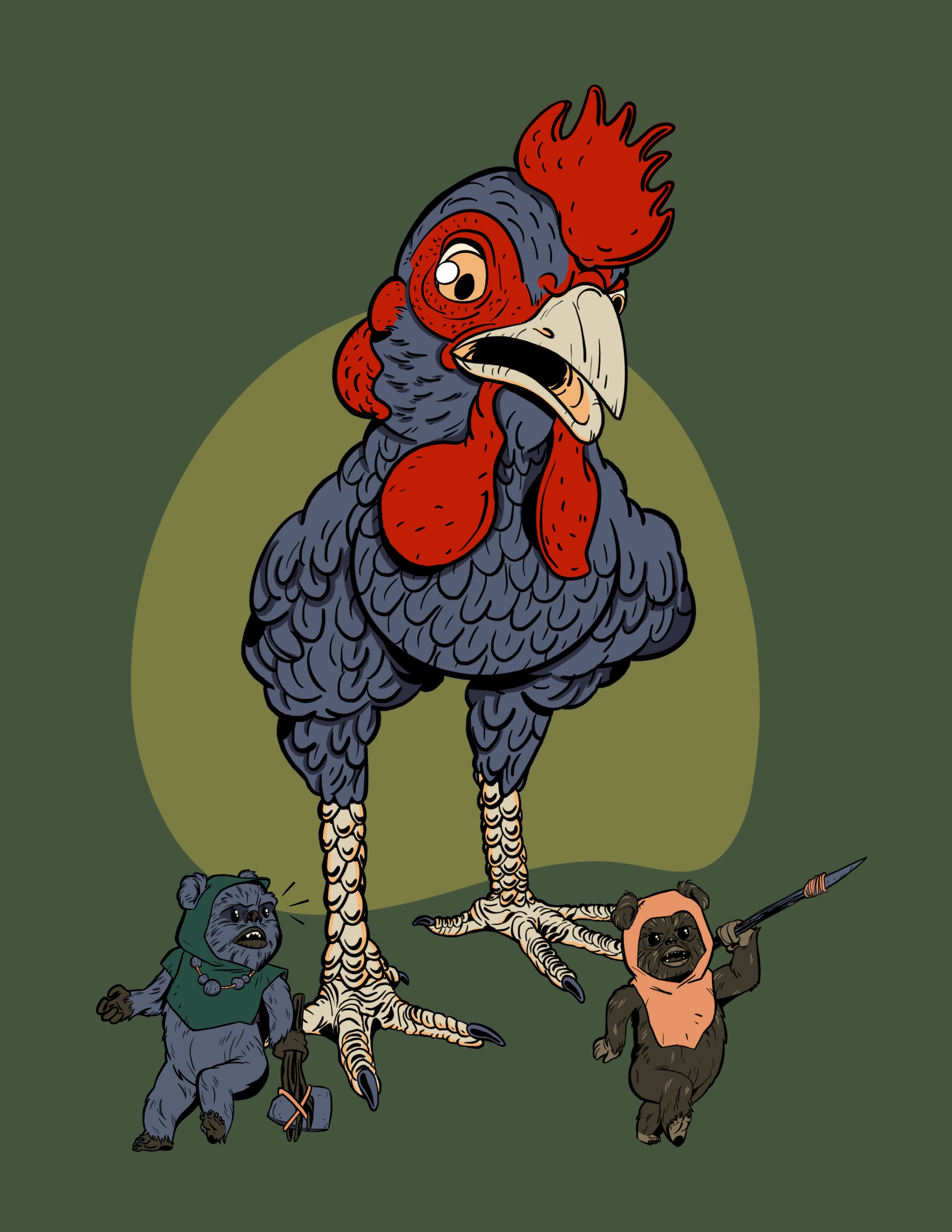 Chiken walker commision