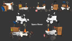 Junk Space Rover