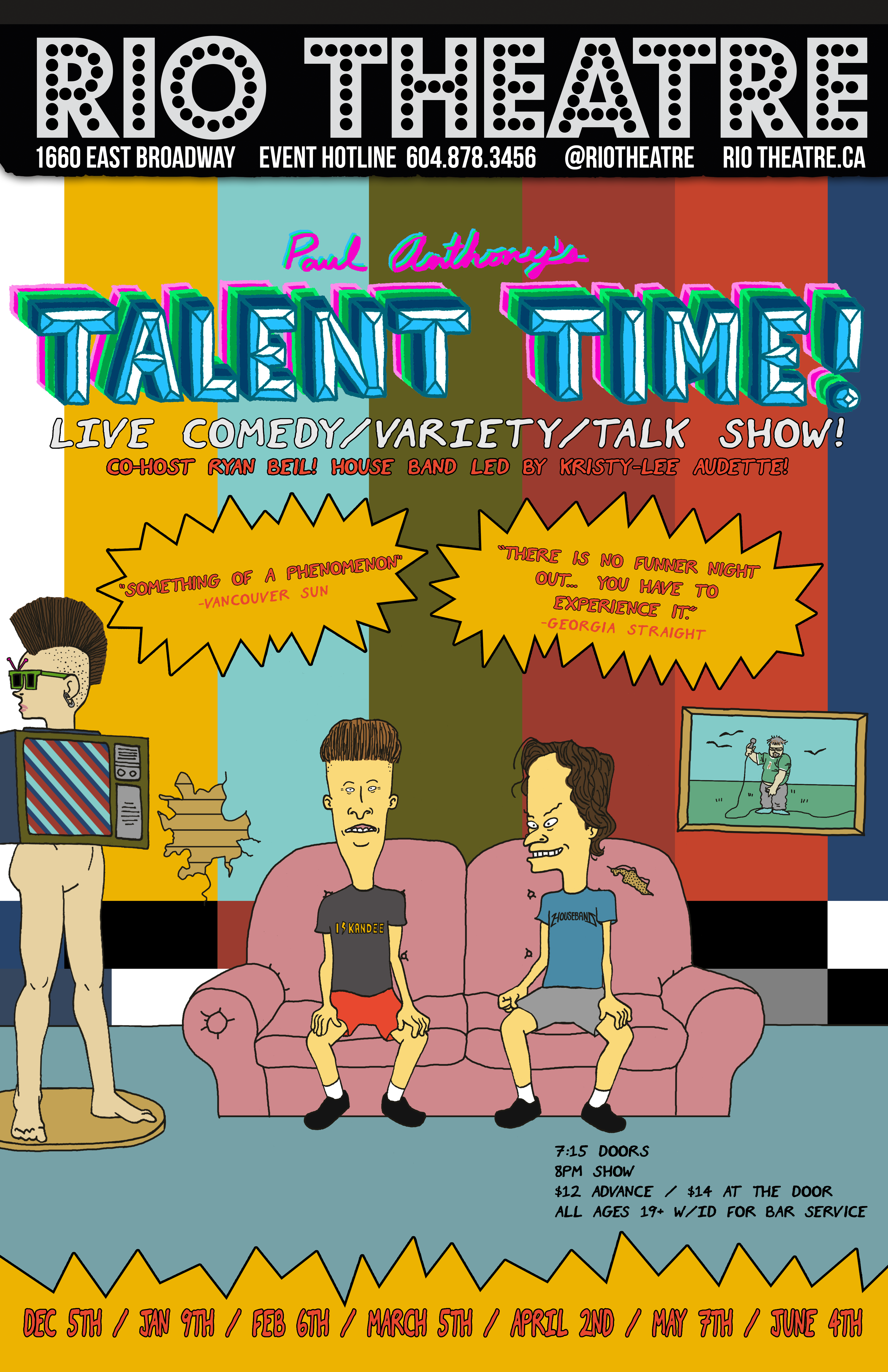Talent Time Poster 2020