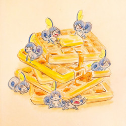 Sobbles and waffles