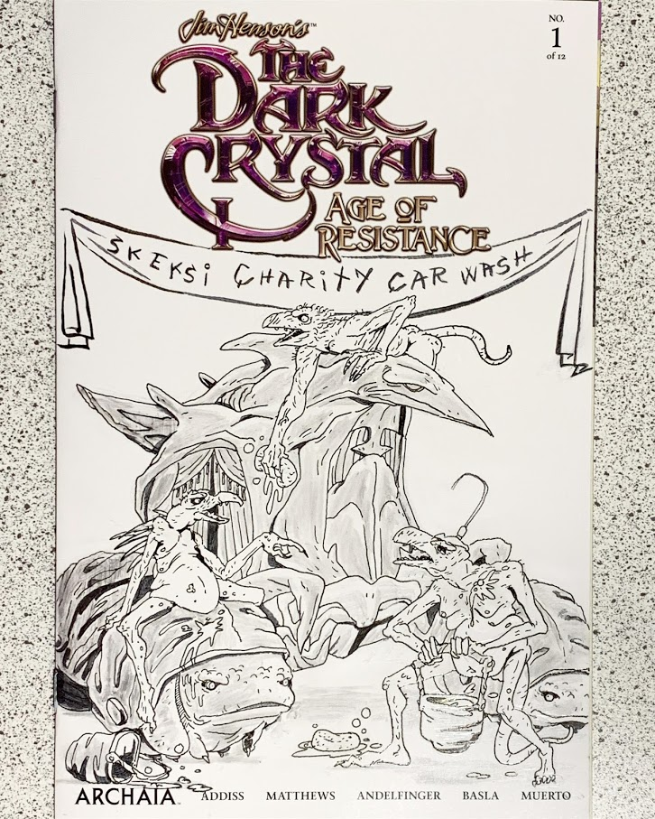 Dark Crystal Cover 2019