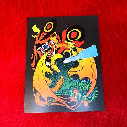 King of Kaiju Print