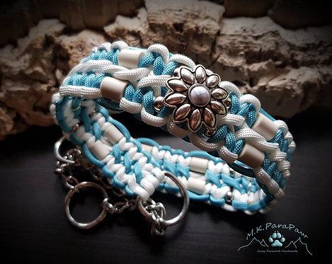"""""""Bluewonder"""" - EM-Keramik Hundehalsband"""