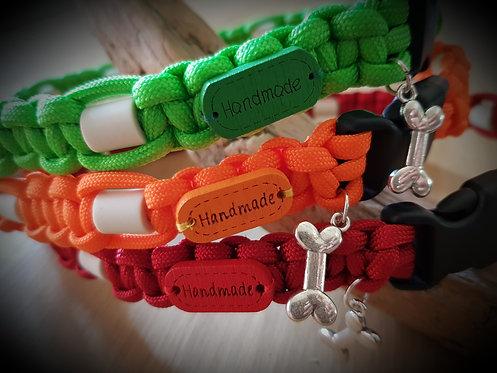 Hundehalsband mit EM-Keramik 1 Reihe