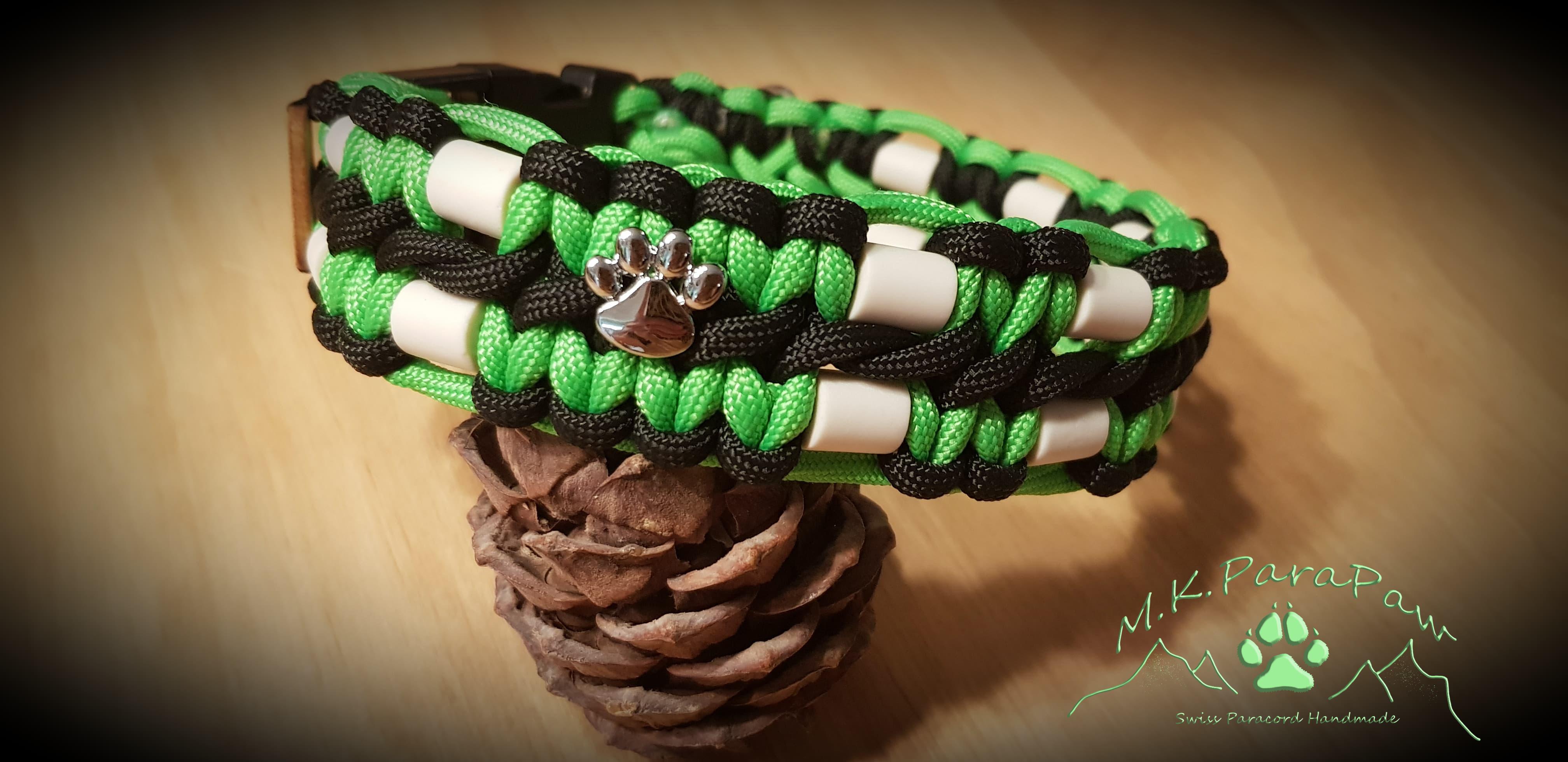 EM-Keramik Halsband 2 Reihen