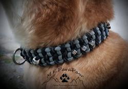 Breites Halsband mit Name