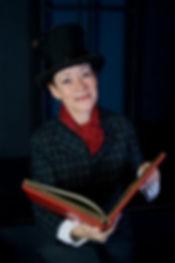 Berni Scrooge with book.jpg