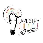 tapestry logo 30th FINAL WHITE  POSTER.j