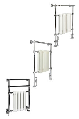 Vivien 8 Heated Towel Rail | Castrads