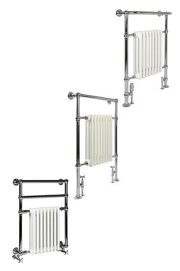 Vivien 8 Heated Towel Rail   Castrads