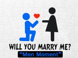 ความรู้สึกของฝ่ายชายตอนคุกเข่าขอแฟนแต่งงาน