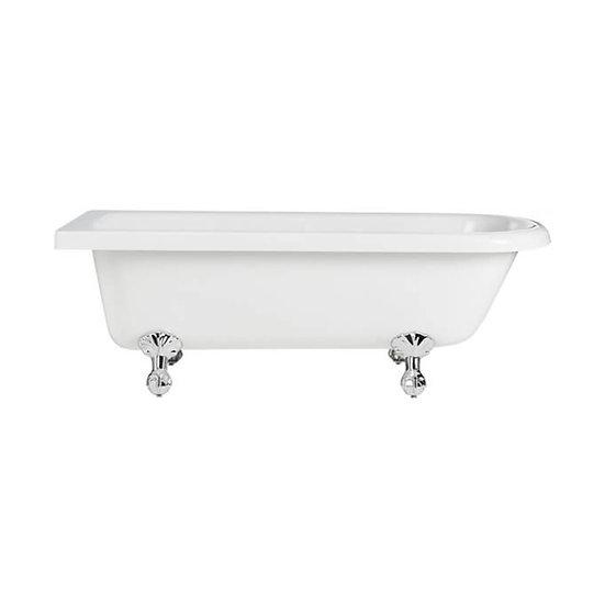 Tilbury Corner Freestanding Acrylic Bath | Heritage Left