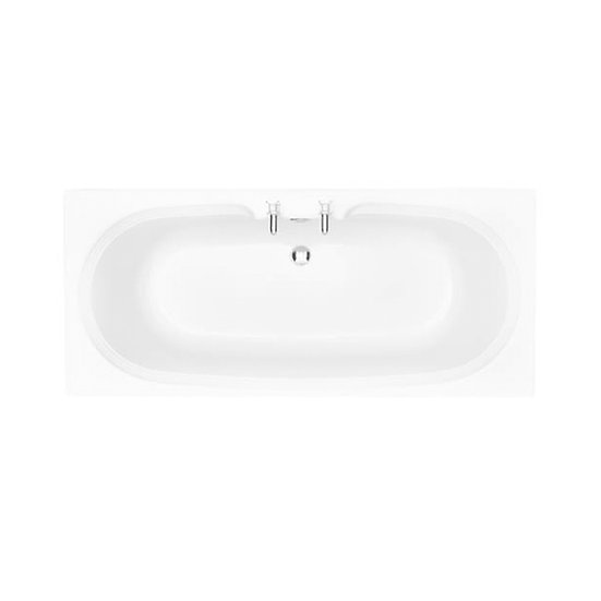 Dorchester Acrylic Double Ended Fitted Bath 410mm High | Heritage
