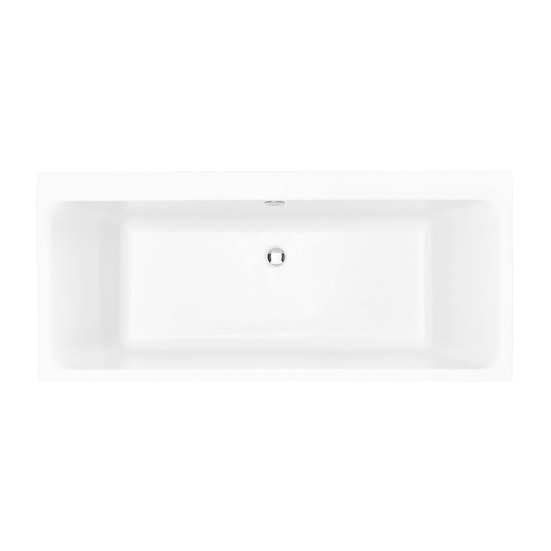 Blenhiem Acrylic Double Ended Fitted Bath 450mm High | Heritage