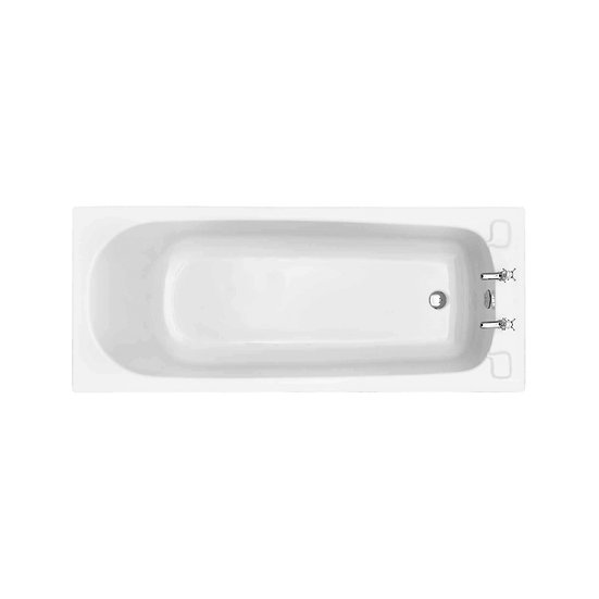 Dorchester Acrylic Single Ended Fitted Bath 385 mm High | Heritage